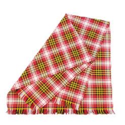 Maryland State Flag Tartan Pashmina Wool