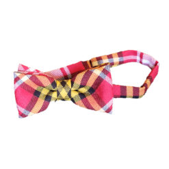 Maryland State Flag Tartan Bow Tie Wool