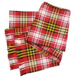 Maryland State Flag Tartan Sash Wool