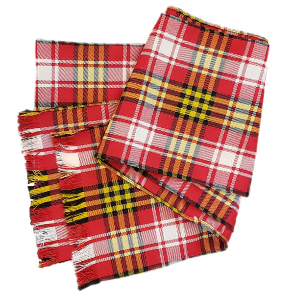 Maryland State Flag Tartan Sash Wool