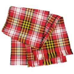 Maryland State Flag Tartan Scarf Wool