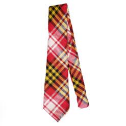 Maryland State Flag Tartan Tie Wool