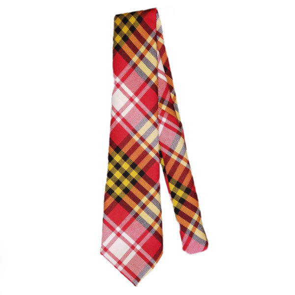 Maryland State Flag Tartan Tie Wool