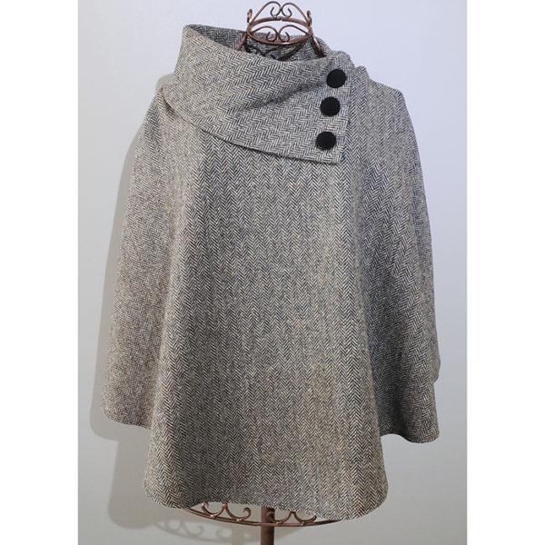 Poncho 1 Gray