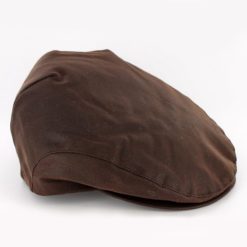 Waxed Trinity Cap in Brown