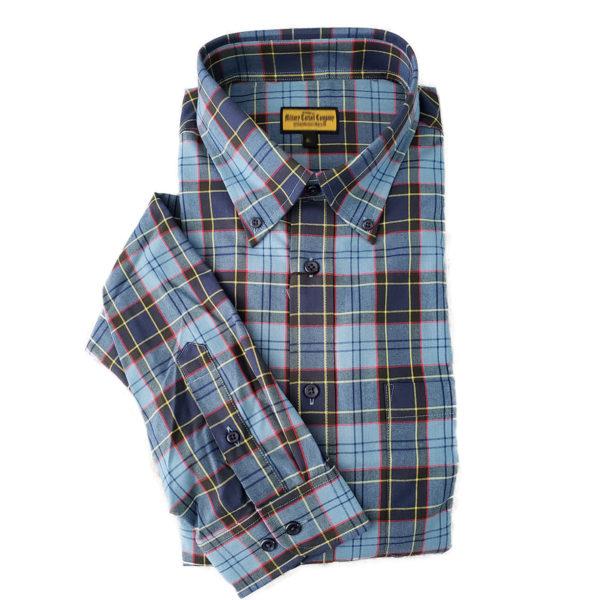US Air Force Tartan Button Up Shirt