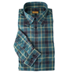 US Army Tartan Button Up Shirt