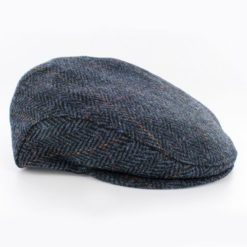 Trinity Flat Cap Tweed Blue