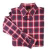 US Coast Guard Tartan Button Up Shirt