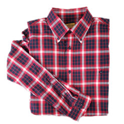 US Coast Guard Tartan Button Up Shirt
