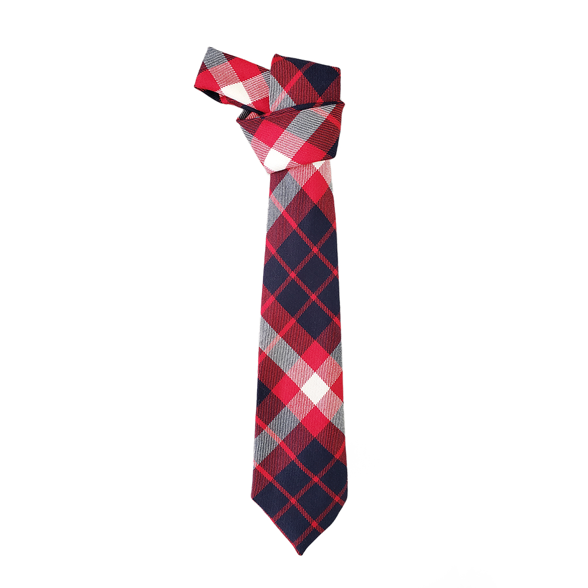US Coast Guard Tartan Wool Tie