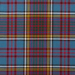 Anderson Modern Tartan Tie Sash Fabric Scarf