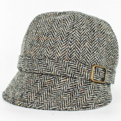 Tweed Flapper Cap Gray-1