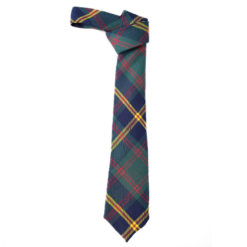 US Marines Leathernecks Tartan Tie