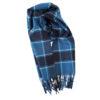US Navy Edzell Tartan Cashmere Wool Scarf
