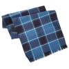 Navy Tartan Wool Sash