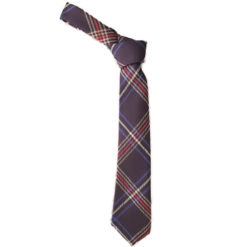 US Law Enforcement Police Tartan Tie