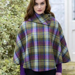 Pink Green Tweed Wool Poncho cladafh claddagh cladagg calddagh cladah kladdagh kladagh kaldagh irish sweater riish iriss irrish riish irrisshh irish sweater weather kilt klit kitl klit models tratan tartan artna tarntasn tartans