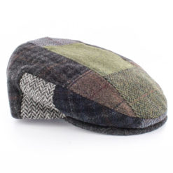 Trinity Flat Cap Tweed Patchwork