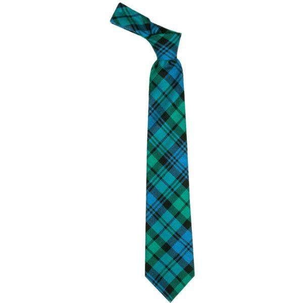 Black Watch Ancient Tartan Scottish Wool Neck Tie