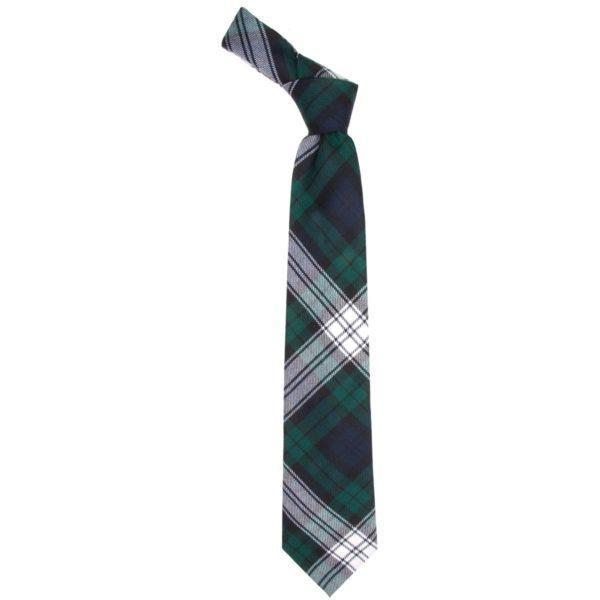 Black Watch Dress Modern Tartan Scottish Wool Neck Tie