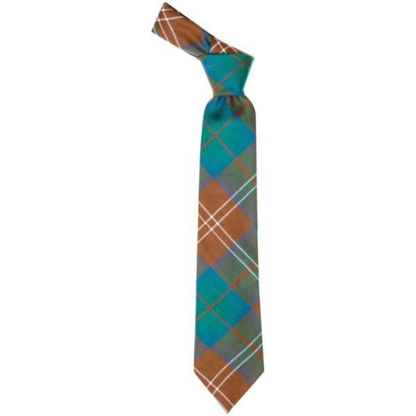 Chisolm Clan Hunting Ancient Tartan Wool Neck Tie