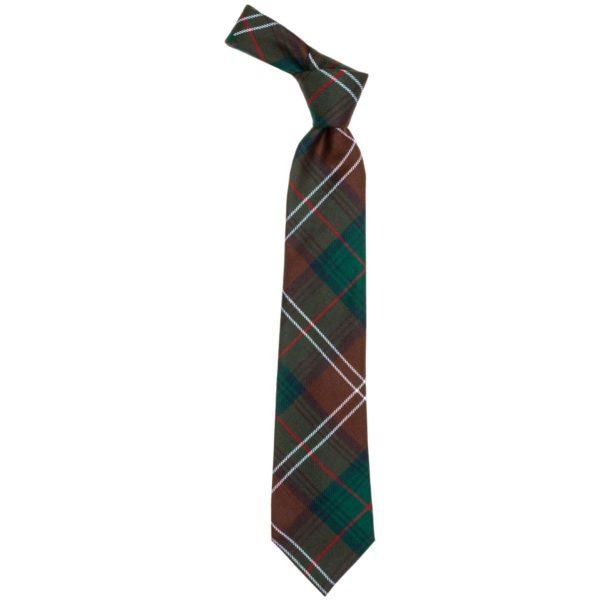 Chisolm Clan Hunting Modern Tartan Wool Neck Tie