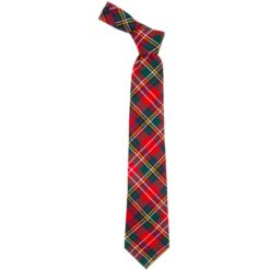 Christie Clan Modern Tartan Wool Neck Tie