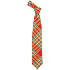 Chattan Clan Ancient Tartan Wool Neck Tie