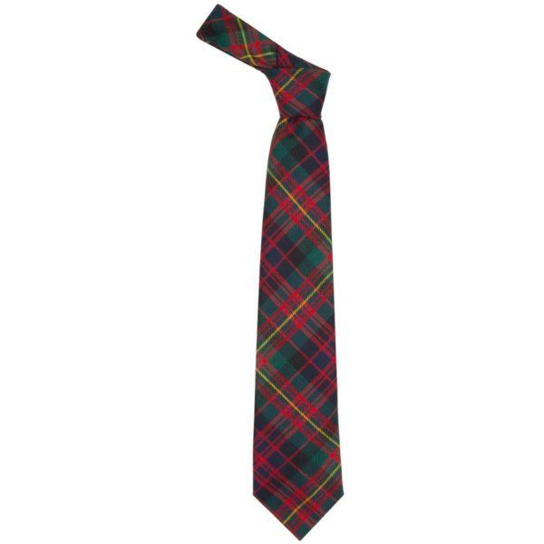 Carnegie Clan Modern Tartan Wool Neck Tie
