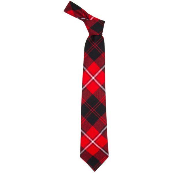 Cunningham Clan Modern Tartan Wool Neck Tie