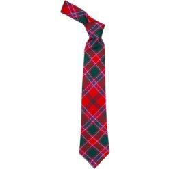 Dalziel Clan Modern Tartan Wool Neck Tie