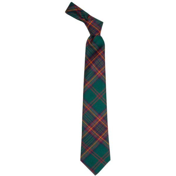Ettrick District Forest Scottish Tartan Wool Neck Tie