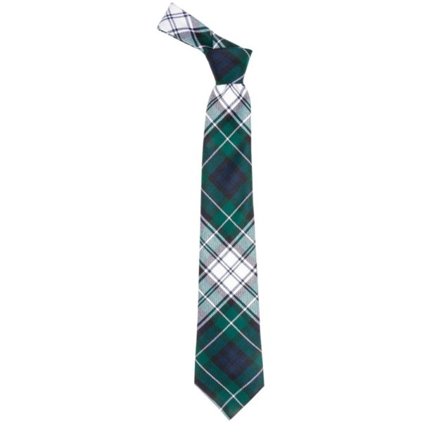 Forbes Clan Dress Modern Tartan Wool Neck Tie
