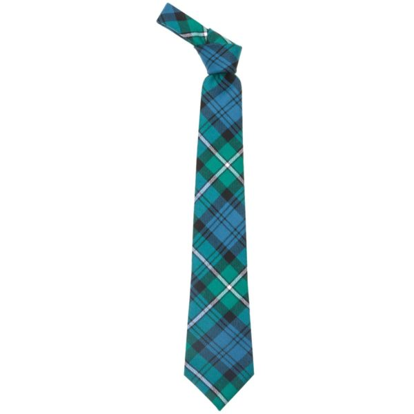 Forbes Clan Ancient Tartan Wool Neck Tie