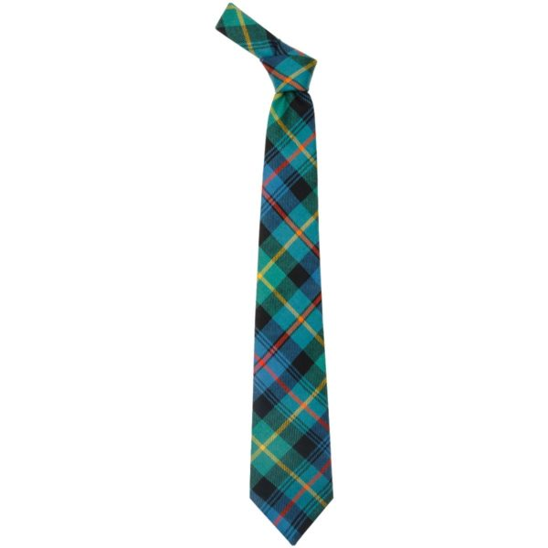 Farquharson Clan Ancient Tartan Wool Neck Tie