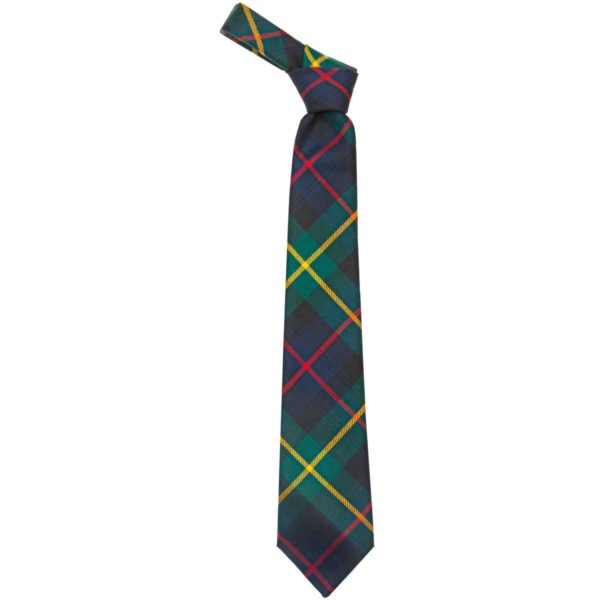 Farquharson Clan Modern Tartan Wool Neck Tie