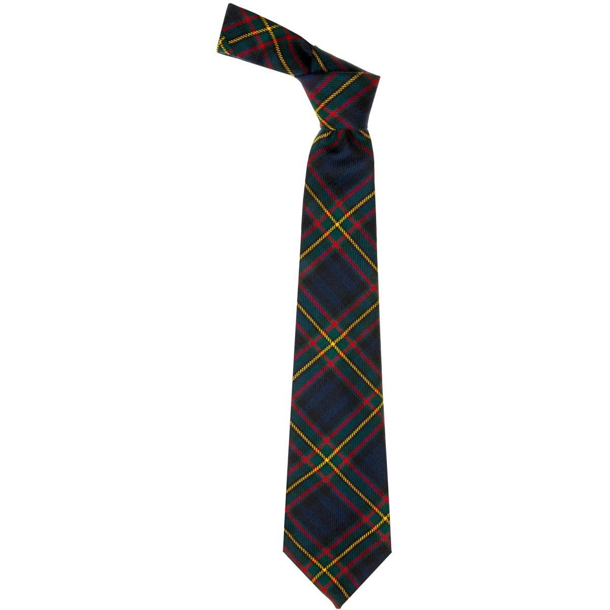 Mens Bow Tie Woven in Scotland Scottish National Tartan