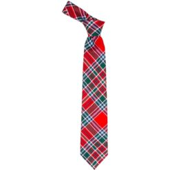 MacBean Clan Tartan Wool Neck Tie