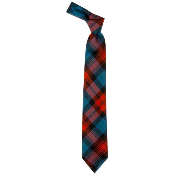 MacLachlan Red Ancient Tartan Wool Neck Tie