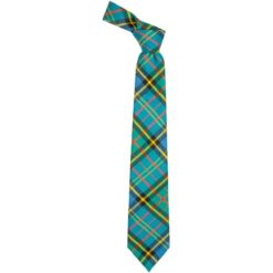 MacMillan Hunting Ancient Tartan Wool Neck Tie