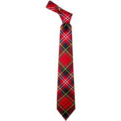 MacPherson Clan Modern Tartan Wool Neck Tie