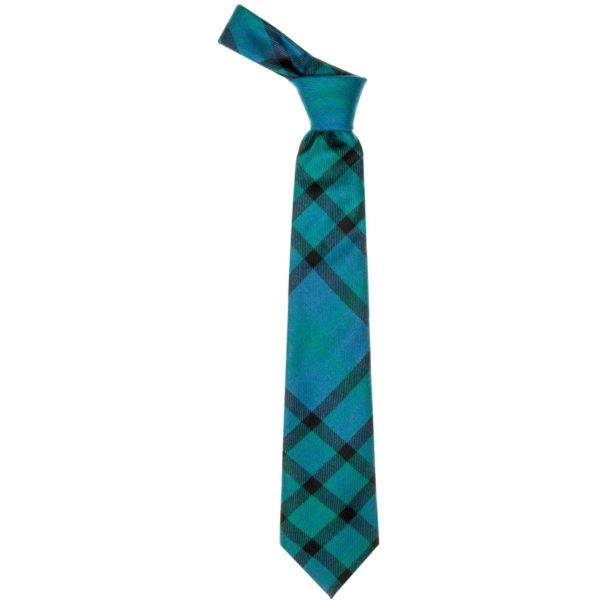 Matheson Clan Hunting Ancient Tartan Wool Neck Tie