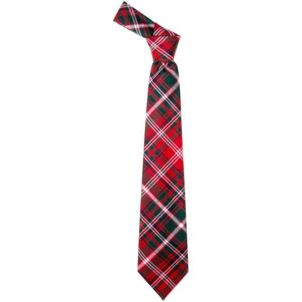 MacDougall Clan Modern Tartan Scottish Wool Neck Tie