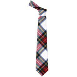 Stewart Dress Modern Tartan Wool Neck Tie