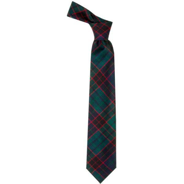 Stewart Old Sett Modern Tartan Wool Neck Tie