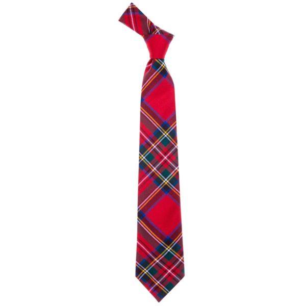 Stewart Royal Modern Tartan Wool Neck Tie