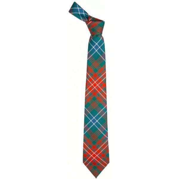 Wilson Clan Ancient Tartan Wool Neck Tie