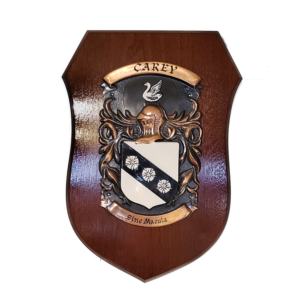 Hand Painted Single Coat of Arms