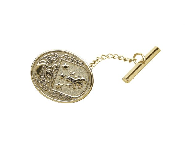 Large Tie Tack Yellow Gold